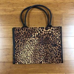 New Leopard print Neiman Marcus bag